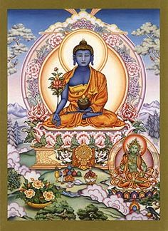 Bhaisajyaguru: Medicine Buddha, probably just get this on my leg in black and white
