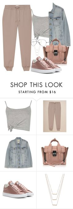 """""""Untitled #2567"""" by camila-echi ❤ liked on Polyvore featuring Boohoo, Current/Elliott, 3.1 Phillip Lim, Jil Sander, ERTH and Ray-Ban"""