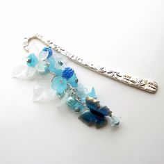 beaded bookmark  metal bookmark  butterfly by jinjajewellery, £7.00