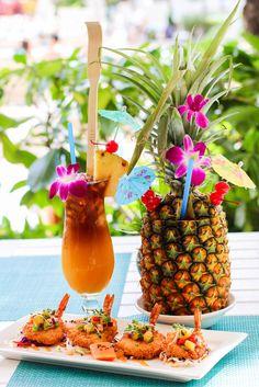 Dreaming about a perfect tropical cocktail from the Splash Bar! #SheratonPK #SplashBar #PauHana / Princess Kaiulani #Kaiulani #Hawaii #ALOHA #カイウラニ #ハワイ #アロハ