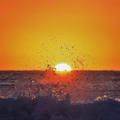 Sunrise at Sunshine Beach.