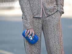 Milan Fashion Week Street Style - clutch
