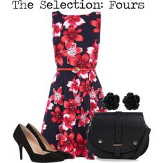 """""""The Selection: Fours"""" by charlizard on Polyvore"""