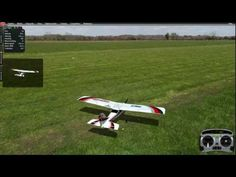 How to fly 4 channel RC airplane, basic acrobatics