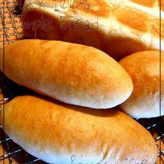 甘い香りのコッペパン♡春よ恋100% by ぽにょさん | レシピブログ - 料理ブログのレシピ満載! - TODAY'S 魔法の法則 -「春よ恋」という国産小麦を使うと、もっちり♡なパンに!パンを作り込まれている方にとっては当たり前の情報かもですが…やっぱり「春よ恋」は美味し過ぎる~!!特に、食パンや...