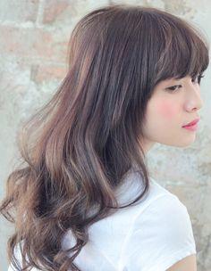 モーブカラーで透明感あるゆらぎカラー - ヘアカタログ|シュワルツコフ オンライン Natural Curls, Natural Hair Styles, Short Hair Styles, Curled Hairstyles, Pretty Hairstyles, Japanese Hairstyle, Great Hair, Hair Art, Hair Designs
