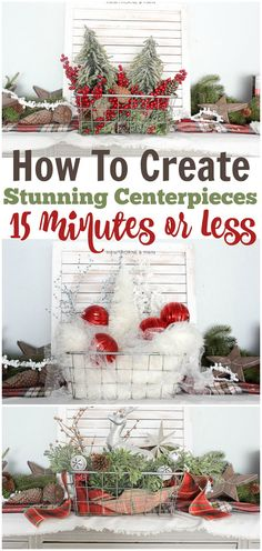 What can you do with 15 minutes? Take a quick cat nap….. Eat a whole bag of chips….. Run 2 miles, if you are a fast runner….. …..and  let's be honest, you might not want to do them in this order…. Can you believe that you can…..create a simple fantastic centerpiece……why yes!! Let me show...Read More »