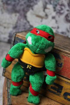 Vintage Teenage Mutant Ninja Turtles Raphael by VintageVanShop, $15.00