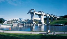 The Falkirk Wheel and Visitor Centre, Scotland - Portfolio | RMJM