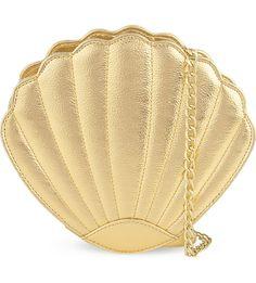 Sea shell cross-body bag