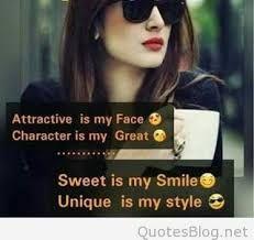 Caption for Girls, Attitude Caption Positive Attitude Quotes, Funny Attitude Quotes, Attitude Quotes For Girls, Crazy Girl Quotes, Funny Girl Quotes, Girl Attitude, Good Thoughts Quotes, Girly Quotes, Attitude Status