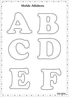 eva dalva@arte: molde de alfabeto:
