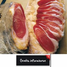 Kräftiger Hausmacher-Schinken! Hier klicken: http://blogde.rohinie.com/2013/01/schinken/ #Italien #Toskana #Schinken #Hausmacherschinken #Schweinekeule