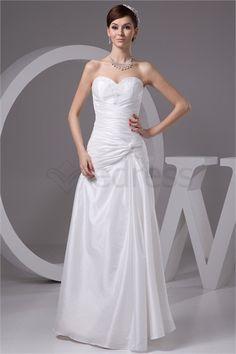 Robe de mariée simple A-ligne Col en cœur en Taffetas http://fr.SzWedress.com/Robe-de-mariée-simple-A-ligne-Col-en-cœur-en-Taffetas-p21632.html