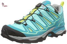 Salomon X Ultra 2, Chaussures de Randonnée Basses Femme, Bleu (Bubble Blue/Teal Blue/Citrus-X), 36 2/3 EU - Chaussures salomon (*Partner-Link)