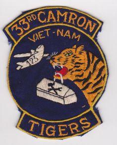 33rd Camron Tigers, Vietnam (handmade)  #VietnamWarMemories