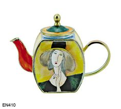 Modigliana (Lady with Hat) Teapot