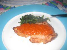 Dieta dos 31 dias: Atum fresco com molho de pimentos vermelhos assados