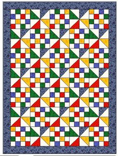 Elizabeth's Quilt Projects: ADDQ - Attention Deficient Disorder for Quilters Cute Quilts, Lap Quilts, Strip Quilts, Scrappy Quilts, Quilt Blocks, Pinwheel Quilt Pattern, Scrappy Quilt Patterns, Pattern Blocks, 16 Patch Quilt