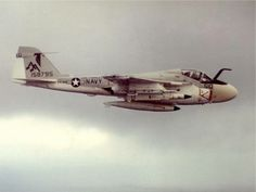 An A-6E Intruder from VA-85, based on the USS Forrestal CV-59. This bird is armed with AGM-78 anti radar missiles