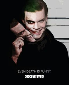 Possible one of the better Jokers on the TV show? And I'm speaking of the show, not the movies or comics y'all, don't panic! Not yet, muahaha Gotham Series, Gotham Cast, Gotham Tv, Gotham Joker, Joker Art, Joker And Harley Quinn, Marvel Dc, Jerome Valeska Joker, Jerome Gotham