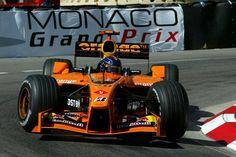 F1  Arrows A23, en esta foto pilotado por Heinz-Harald Frentzen para el Gran Premio de Mónaco en 2002, donde terminó 6°