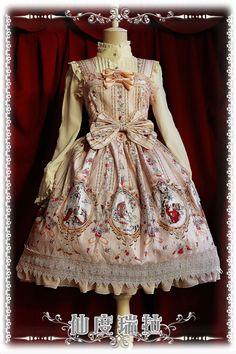 [. Infanta infants Vatican tower] Lolita original printing * Cinderella * JSK Spring Special Price 628 - Taobao