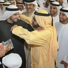Ahmed bin Mohammed bin Rashid Al Maktoum y Mohammed bin Rashid bin Saeed Al Maktoum, DWC, 28/03/2015. Foto: adoalfares