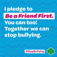 Girl Scout Blog: Celebrate Diversity. #StopBullying.