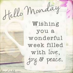 Happy Monday! May it be the start to a fabulous week! #MagnificentMonday ❤ #Free2Luv