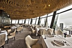 View 62 Restaurant in Hong Kong, designed by Un Design. Finalist at the #RABDAwards 2013