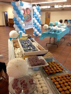 Candy/dessert/s'mores buffet