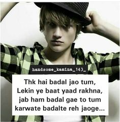 196 Best Boys Attitude Images Hindi Quotes Manager Quotes