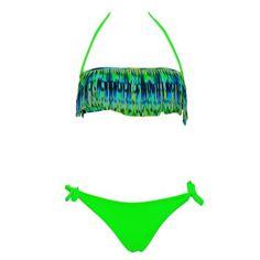 Maillot de bain deux pièces RAE : http://www.carla-bikini.com/fr/maillot-de-bain-rae/3993-maillot-de-bain-femme-rae-2-pieces-boston-vert-fluo.html
