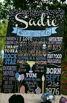 Adult birthday board adult cake smash sign by CustomPrintablesNY