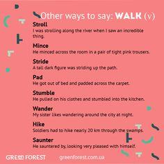 Synonyms to the word WALK. Other ways to say WALK. Синонимы к английскому слову WALK.