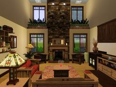 sims living room - Google Search
