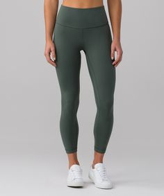 Align Pant II - These pants were designed with a naked sensation for ultimate freedom during your practice. Tight-fitting, buttery-soft Nulu™ fabric offers light compression with a full range of motion.