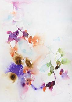 Marta Spendowska - Abstract Watercolour Florals