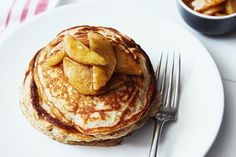 Apple Cinnamon Protein Pancakes Recipe