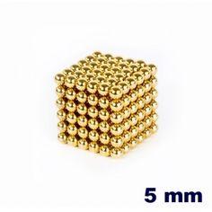 NeoCube Dorado de 5 mm    http://www.regatron.es/neocube/neocube-dorado-cubo-de-216-bolas-de-5mm-de-diametro.html