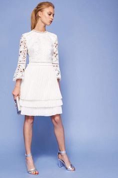 c5ffc38ee  Ted  Baker  White  Lace  Dress  shopstyle  affiliate  wedding