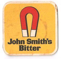 John Smiths Vintage Beer mat Pint Of Beer, Beer Mats, Beer Coasters, John Smith, Craft Beer, Trays, Liverpool, My Favorite Things, Drinks