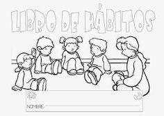 COSITAS PARA EL COLE: LIBRO DE HÁBITOS Class Projects, Grade 1, Author, Album, Education, Comics, Google, 3 Years, Simple