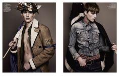 Vman Magazine, Before The Fall, Military Jacket, Hamilton, Jay, Jackets, Fashion, Down Jackets, Moda