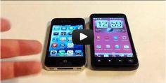 HTC EVO V 4G vs. iPhone 4S Comparison Review @virginmobileus @vmucare