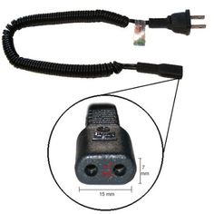 norelco 74-C20 adapter charging cord for electric shaver norelco 710rl power cord replacement parts.