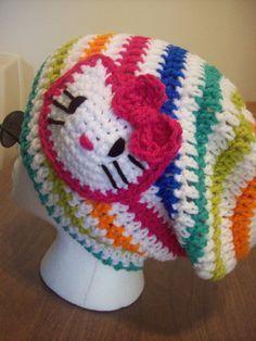 2f3a17712bc Make it Yourself  Crochet Hello Kitty Hat Pattern