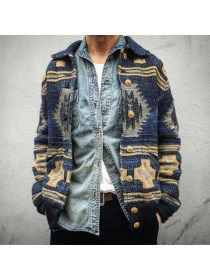 amazing Ralph Lauren southwestern style indigo cardigan -- rugged and relaxed me. amazing Ralph Lauren southwestern style indigo cardigan -- rugged and relaxed menswear fall style + fashion Look Fashion, Korean Fashion, Autumn Fashion, Mens Fashion, Fashion Outfits, Fashion Clothes, Rugged Fashion, Latest Fashion, Fashion Pants