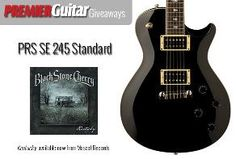 Premier Guitar - Win a PRS SE Standard 245 from Black Stone Cherry - http://sweepstakesden.com/premier-guitar-win-a-prs-se-standard-245-from-black-stone-cherry/